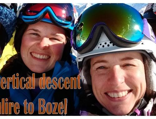 Saulire to Bozel – the 1859m vertical decent