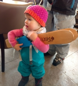 Baby skis