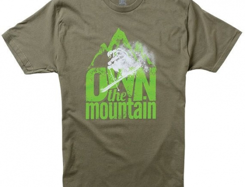 10 Awesome ski and snowboard t-shirts