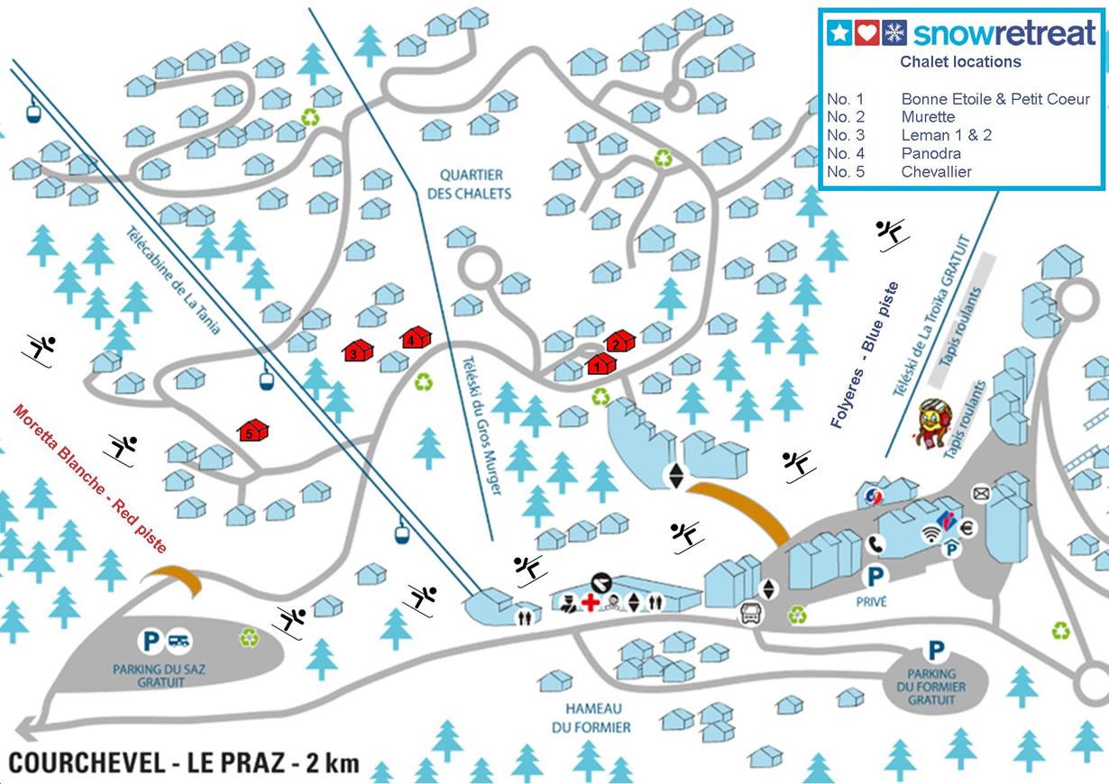 Catered Ski Chalet La Tania Bonne Etoile Snow Retreat Chalets