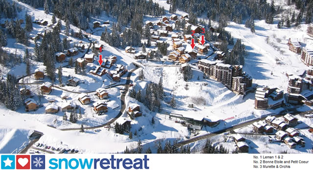 Chalet location in La Tania