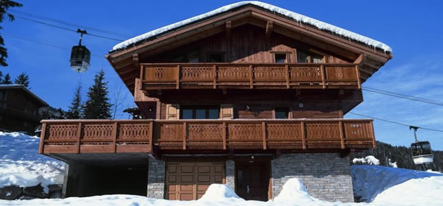 Snow Retreat Chalet in La Tania