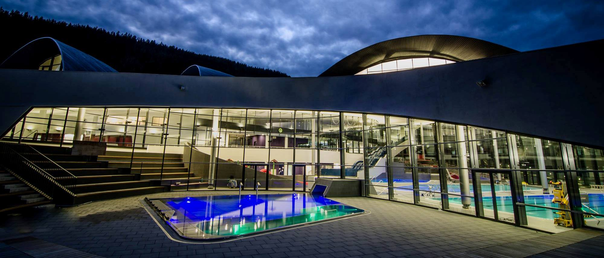 Introducing Aquamotion – Courchevel's stunning swimming complex