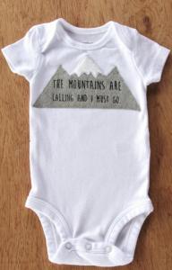 babygro mountains