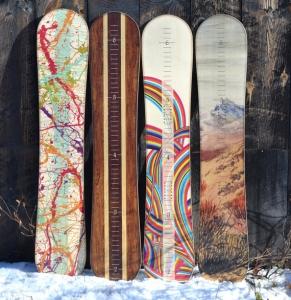 snowboard growth chart